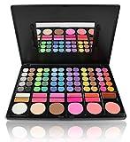 Pure Vie® 78 Colores Sombra De Ojos Paleta de Maquillaje Cosmética - Perfecto para Sso Profesional y Diario