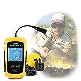 Fishfinder Portatili Trasduttori cablati Kayak Fish Finder Kit Ecoscandaglio Portatile Dis...