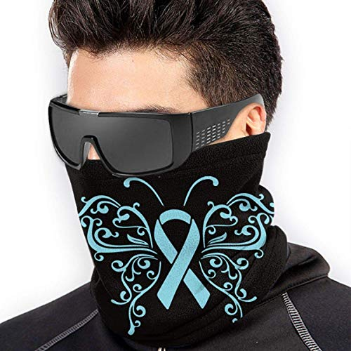 XXWKer Microfibre Chapeaux Tube Masque Visage Tour de Cou Cagoule, Ribbon Prostate Cancer Microfiber Polyester Seamless Windproof Bandana & Face & Neck Warmer Gaiter Shield - for Unisex