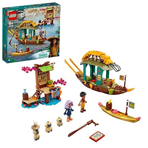 LEGO 43185 Disney Princess Bouns Boot Spielzeug mit 2 Mini Puppen aus dem Film R...