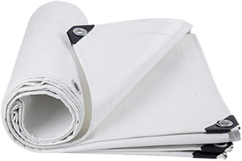 CAOYU LKW-Regenwasserschutzplanenladung staubdichtes windundurchlässiges PVC-Hochtemperaturanti-Altern, weiß B07JBB26GB    Abholung in der Boutique 634061