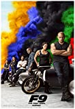 Fast and Furious 9 Movie Poster 24 x 36 Inches Full Sized Print Unframed Ready for Display