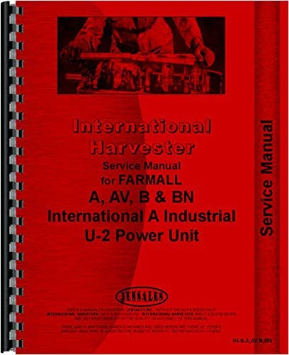 Farmall Manufacturer OFFicial shop Sale special price A Tractor Service Manual to 1947 1939-1947 1939