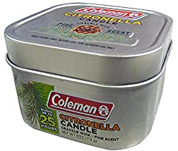 coleman scented citronella candles