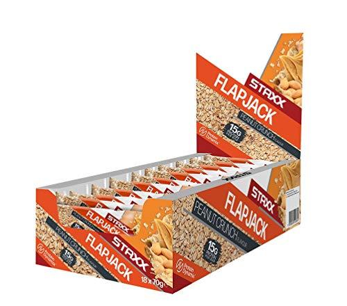 Protein Dynamix STAXX Baked Flapjack Protein Bars 12 x 70g (Peanut Crunch)