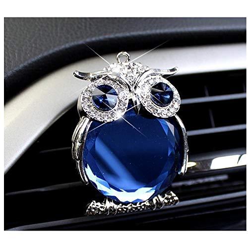 SGXDMxx Tide merk uil kristal auto parfum auto airconditioning outlet decoratie parfum auto interieur geur blijvende geur