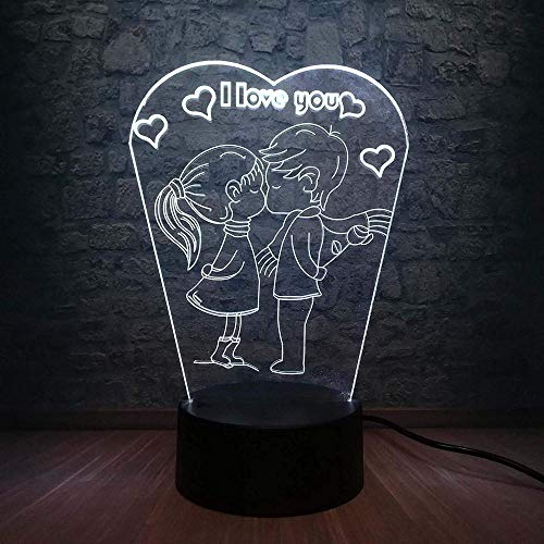3D illusie Night Light Bluetooth Smart Control 7 & 16 M Color Mobile App LED Vision kinderslaapkamer nachtkastje oude auto vorm papa opa geheugen souvenir uniek speelgoed