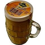 Kuhne Vaso de mostaza y cerveza tradicional alemana, 250 ml (paquete de 3)