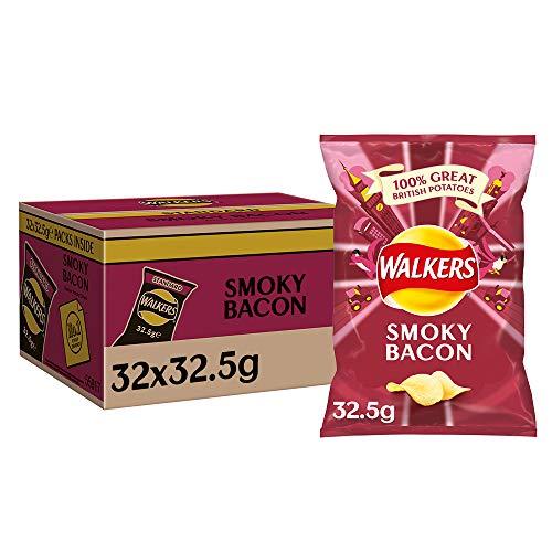Walkers Crisps Smoky Bacon 32 x 32,5g