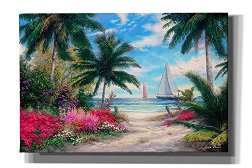Cortesi Home 'Sea Breeze Trail' by Chuck Pinson, Canvas Wall Art Prints, 12