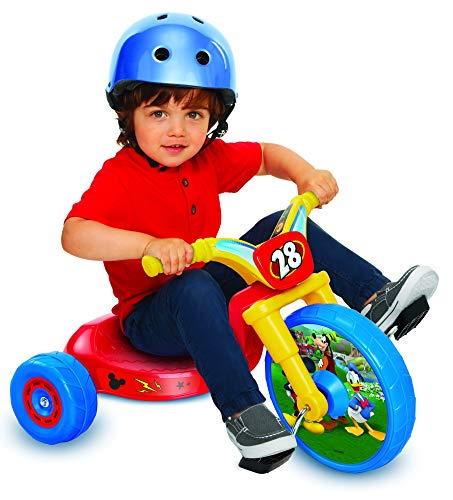 "Mickey Mouse 10"" Fly Wheels Junior Cruiser Ride-On, Ages 2-4"