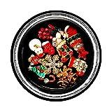 Box Weihnachten Shell schillernde Nail Sticker Pailletten bunte Art Dekoration Nagel Stein Mix...