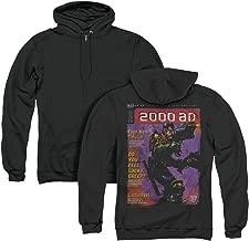 Trevco Judge Dredd 1067 Unisex Adult Zipper Hoodie, Back Print
