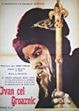 Ivan the Terrible, Part Two Poster Movie Romanian 11x17