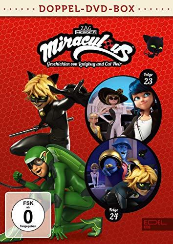 Miraculous - Geschichten von Ladybug und Cat Noir - Doppel-DVD-Box (Folgen 23 + 24)