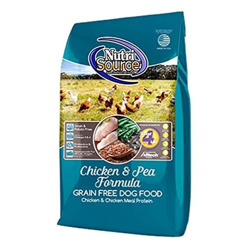 Tuffy's Pet Food NutriSource Grain Free Dog Food, 30 Pound, Chicken & Pea