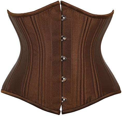 NJJX Max 78% Inventory cleanup selling sale OFF Vest 26 Steel Satin Tight-Fitting M Corset Waistband Body