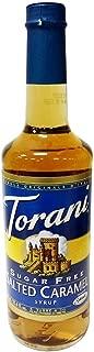 Torani Sugar Free Salted Caramel Syrup with Splenda, 750ml
