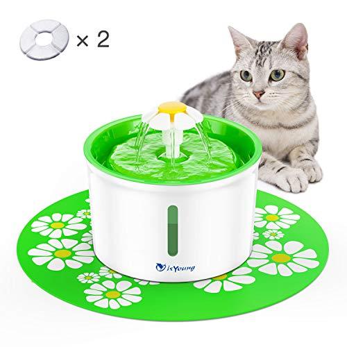 IsYoung Fuente Agua Silencioso 1.6L Gatos