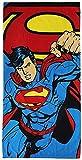 Toalla Playa Piscina Baño Superman 140 x 70 cm Oeko-Tex MV15755
