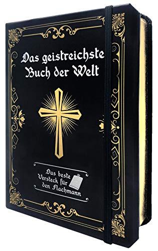 Das geistreichste Buch der Welt: Das beste Versteck für den Flachmann