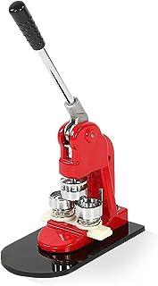 Greensen Machine à Badges Personnalisable avec 1000 Sets de Badges, Press Button Cutter Moule Bouton Maker Punch Machine, ...