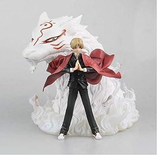 Wwwx Anime Natsume Little Fox Natsume Takashi PVC Action Figure Sculpture Character Decoration 19Cm