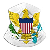 Fahne der USA Virgin Islands Nackenwärmer Gaiter Fleece Skimaske Abdeckung für Winter