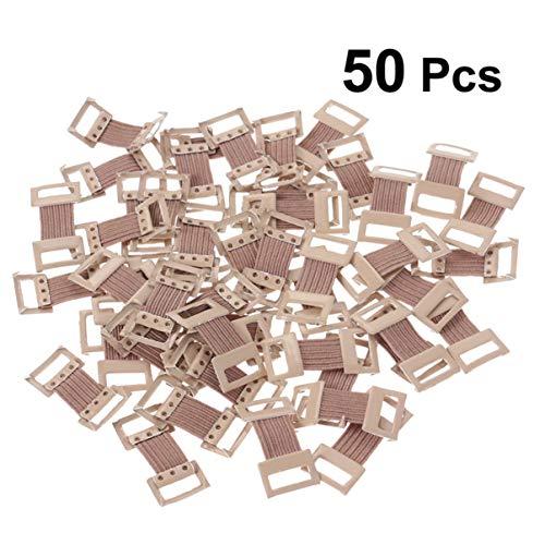 Supvox 50pcs clips de vendaje elástico clip de vendaje de metal elástico clip de vendaje de compresión clip para vendajes vendajes de compresión vendajes de crepé
