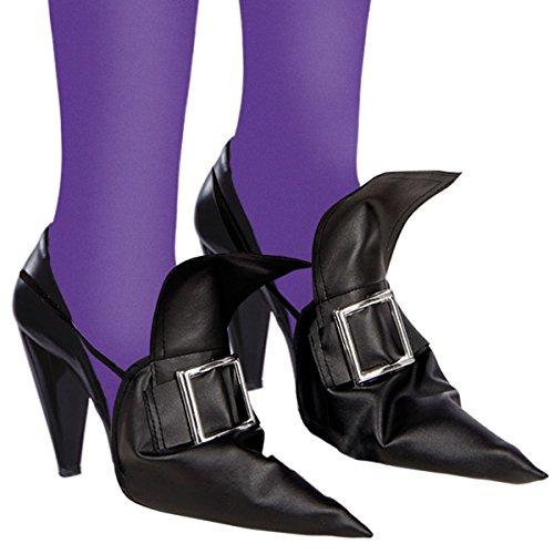 Carnival Toys Cubrezapatillas disfraz de Halloween cubiertas del zapato de la bruja