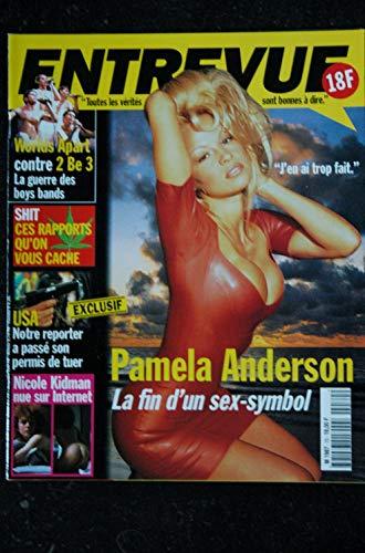 ENTREVUE 70 1998 Mai Pamela ANDERSON 2 Be 3 Nicole KIDMAN Sylvia KRISTEL Bridget FONDA Julie DELPY Sheryl LEE