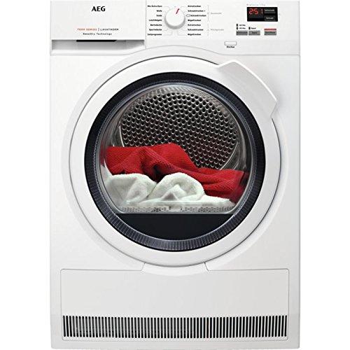 AEG T7DB46570 Wärmepumpentrockner / SensiDry – schonend und energiesparend / 7,0 kg / Mengenautomatik / Knitterschutz / Kindersicherung / Schontrommel / Startzeitvorwahl