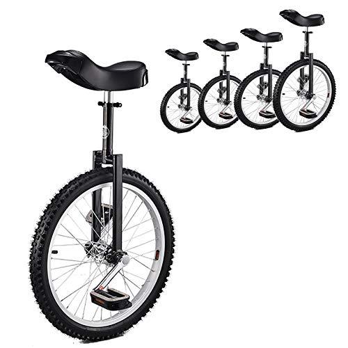 Einrad Einrad für Kinder 20 Zoll Schwarz, Erwachsene/Anfänger/Männliche Teenager 24/18 / 16-Zoll-Rad Einräder, Alter 12-17 Jahre, Spaß Im Freien Balance Radfahren (Size : 16inch)