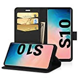 EasyAcc Case for Samsung Galaxy S10, Leather Wallet Case