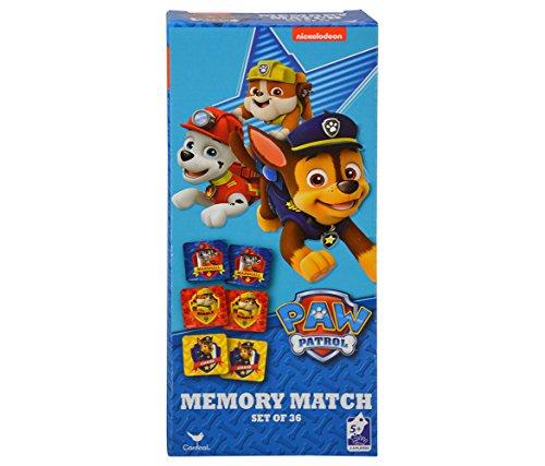 Paw Patrol 36-Piece Memory Match Tower Game