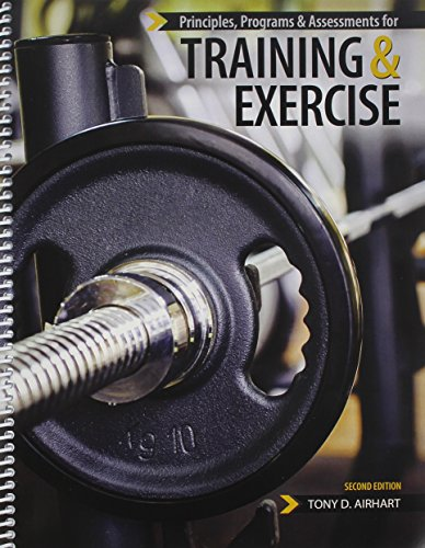 Principles, Programs and Assessments for Training and Exercise