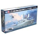 ホビーボス 1/700艦船シリーズ アメリカ海軍 輸送揚陸艦ニューヨーク LPD-21 プラモデル