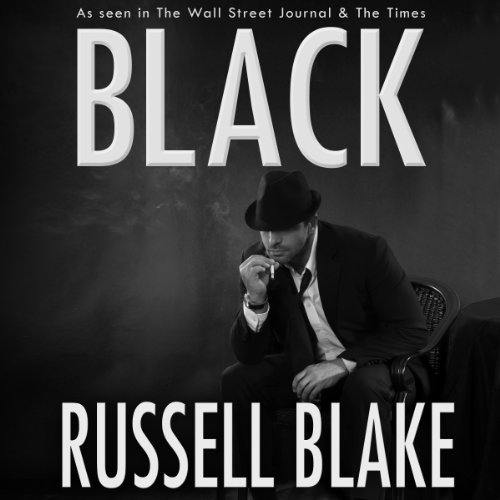 Black audiobook cover art