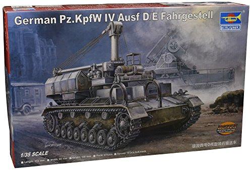 Trumpeter 00362 Modellbausatz German Pz.Kpfw IV Ausf. D/E Fahrgestell