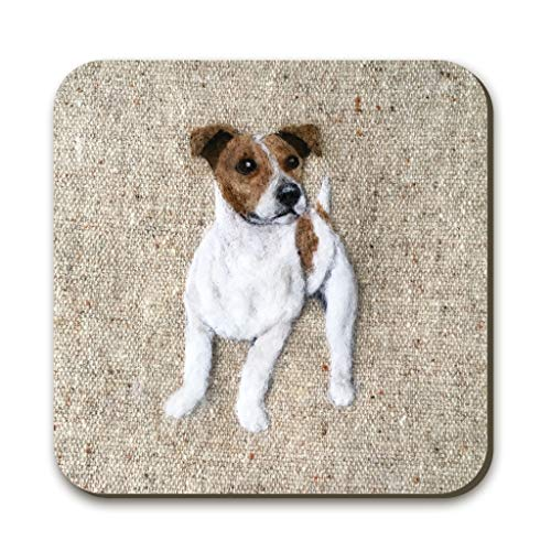Sharon Salt Smooth Hair Jack Russell Untersetzer