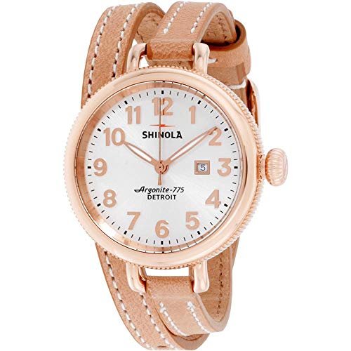 Shinola The Birdy Silver Dial Stainless Steel Ladies Watch S0200056