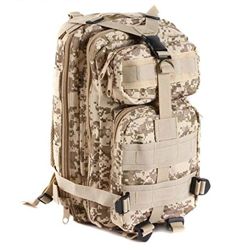 TrendClub100 Military BW Outdoor Combat Backpack - Desert/Digital