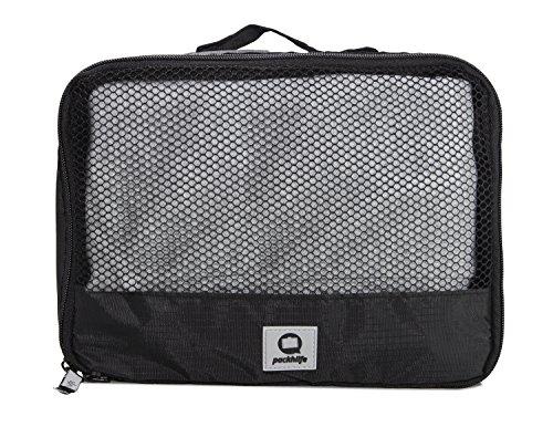 HAUPTSTADTKOFFER – Packhilfe - Packtasche M, Koffer Organizer, Aufbewahrungstasche für Gürtel + Unterwäsche, Gepäcktasche für Reisen, Kofferorganizer, Packwürfel, Kleidertasche, Reisetasche, 26 cm