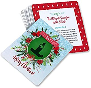 Christmas Cross Hunt 4x4 Advent Scripture Cards