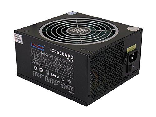 LC-Power LC6650GP3 PSU, 650W, V2.3, Nero