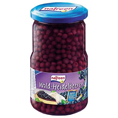 NATREEN Obstkonserve Heidelbeeren 370 ml