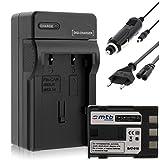 Batería + Cargador (Coche/Corriente) para Canon NB-2L / EOS 350D 400D / Rebel XTi/DC. MD. MV. - Ver Lista