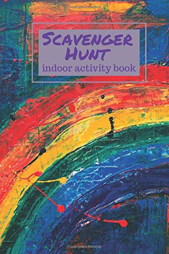 Indoor Activity Book - Scavenger Hunt: There's no time to get bored when the kids have this book. Find, draw, and describe items found in the house.