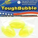Rainbow Plastics Cast Bubble 2' Med T.Green 3Pk Fishing Products