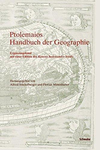 Handbuch der Geographie: Ergänzungsband mit einer Edition des Kanons bedeutender Städte